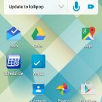 Lollipop on Samsung Rugby Pro SGH-I547c